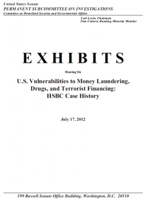 HSBC Case Study: EXHIBITS